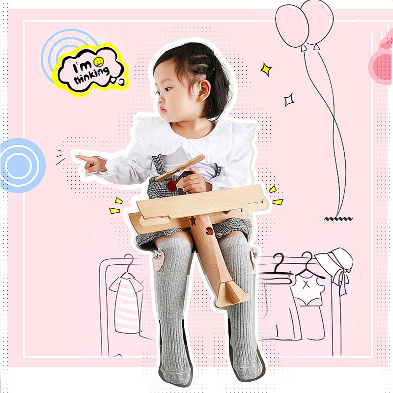 Cartoon Baby Girls Long Sock Toddler knee high socks Girl candy color leg warmer cotton warm boot sock fashion princess in Socks from Mother Kids