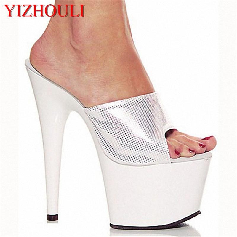 Novia Noche Zapatos Sandalias Lentejuelas Inferiores Decoración Cristal Con Cm Rendimiento Danza 15 Alta Apelación tYqXzX