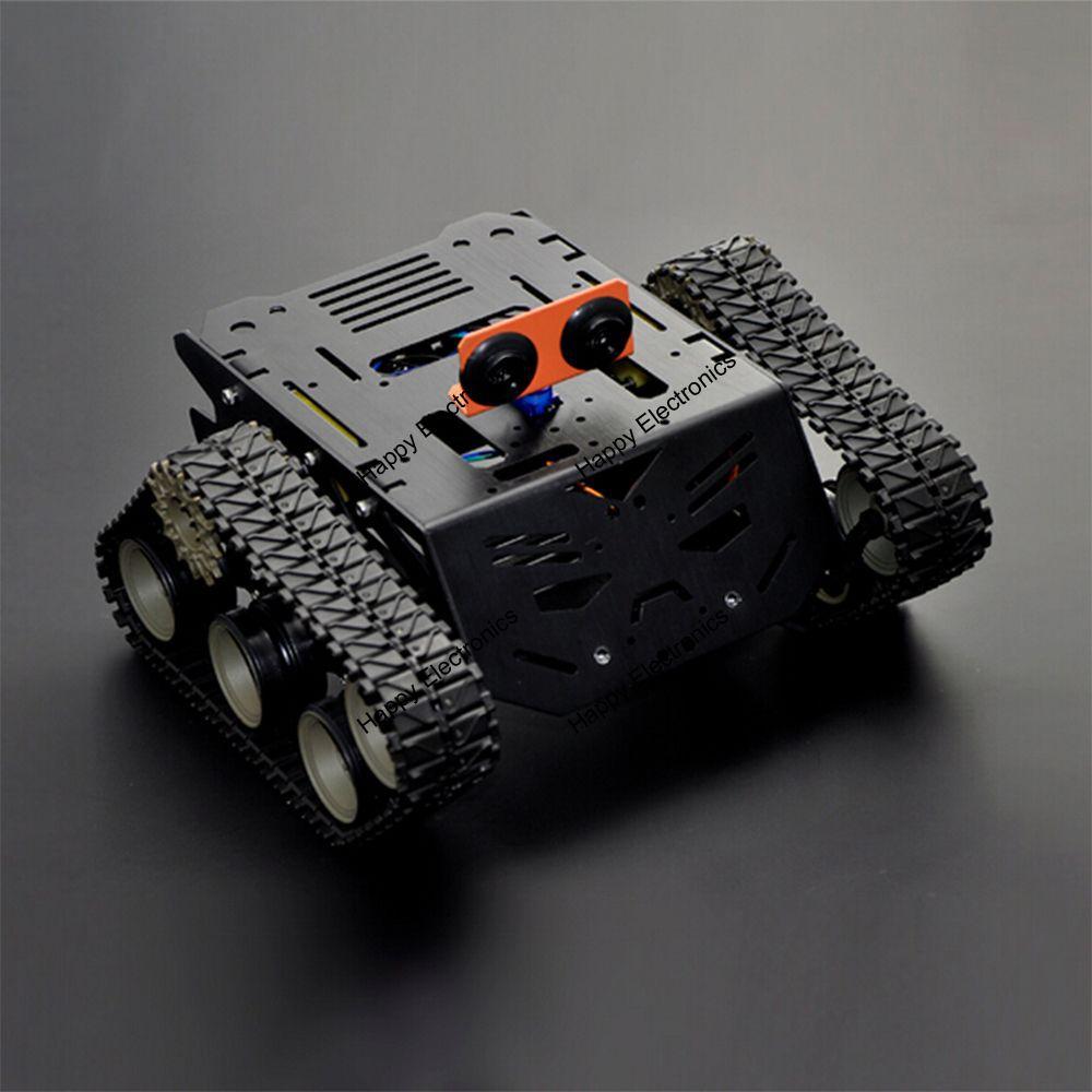 DFRoBot 100 Genuine Devastator Tank Smart car Robot Mobile Platform 3V to 7 5V 160 RPM