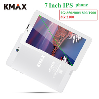 KMAX 7 inch 3G Phone Call Android 8.1 Tablet PC SIM Card HD LCD Quad Core 16GB Bluetooth GPS phablet PC Tablets 7 8 32GB TF