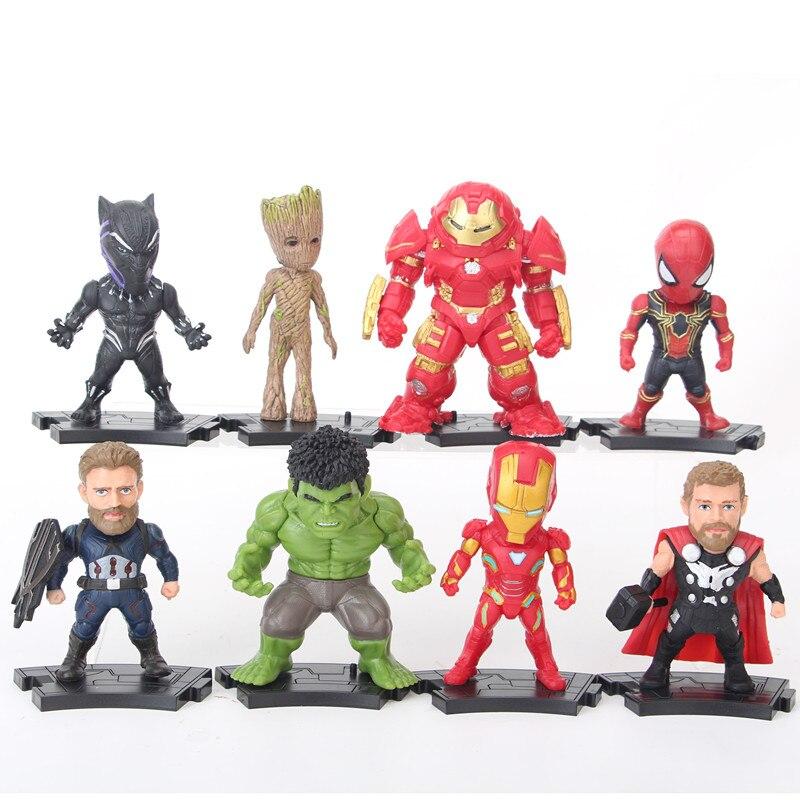 8pcs-set-font-b-avengers-b-font-infinity-war-superheroes-ironman-thor-captain-american-spiderman-black-panther-hulk-figure-toys
