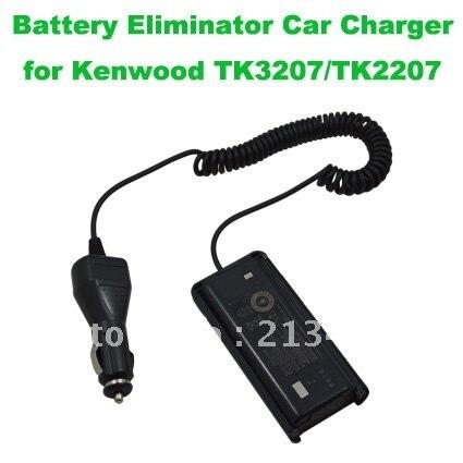 Battery Eliminator Car Charger For Kenwood TK3207/TK2207 Cigarette Lighter Plug