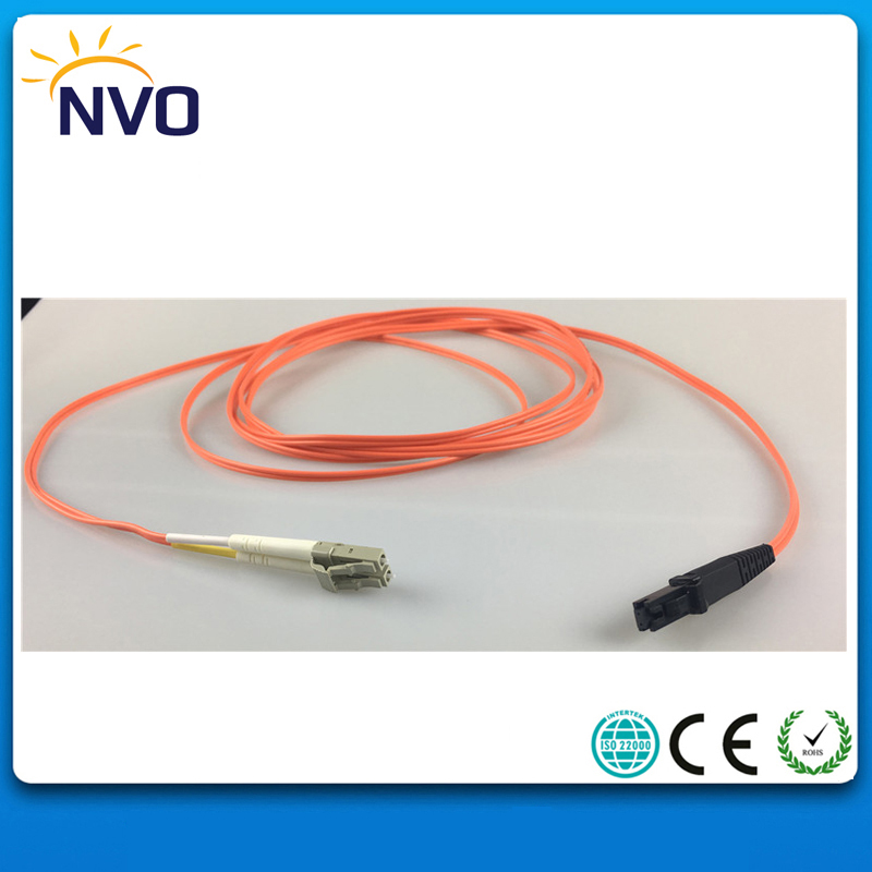 MM(62.5/125),Duplex,4M,1.8mm,PVC Jacket,MTRJ-LC/UPC Fiber Optic Patch Cord/Fiber Optic Jumper