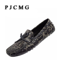Popular Men S Moccasins Male Genuine Leather Shoes Fashion Casual Shoes Male Breathable Single Shoes Serpentine