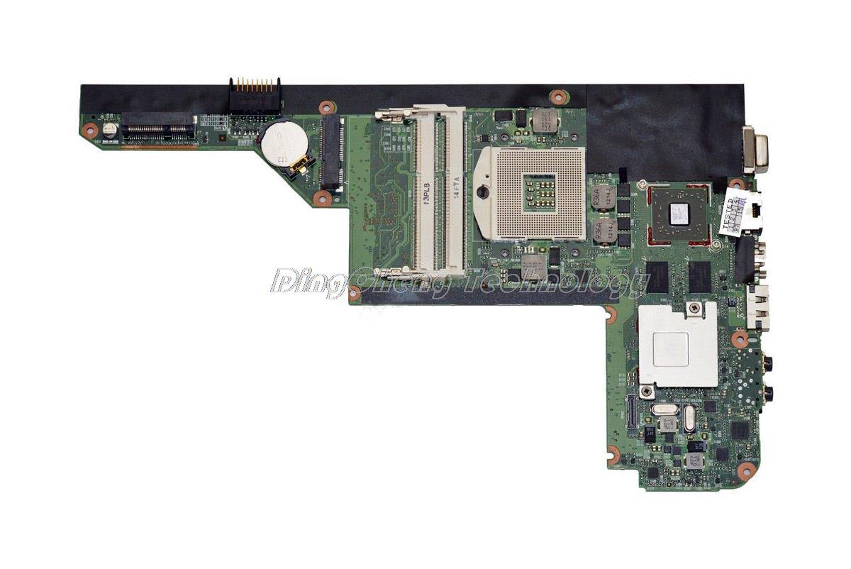 Original laptop Motherboard For hp DM4 DM4-1000 616244-001 hm55 HD5450 1GB non-integrated graphics card 100% fully tested 1set glass