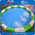 Envío libre! giant 10 m de diámetro alrededor de la piscina inflable, piscina inflable del agua juguetes para el agua, inflable piscina de hidromasaje