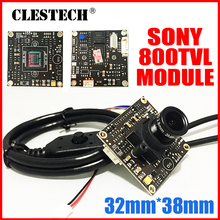 4140+673 1/3Sony CCD Effio HD CCTV camera chip module 2.8mm 3.0mp lens Super wide Angle osd menu cable Finished Monitor board