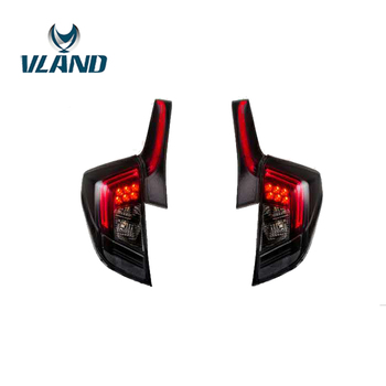 VLAND Factory For Car Tail Light For Honda FIT 2014 2015  2016 2017 LED Taillight For Jazz GK5 Led Tail Lamp RS Design
