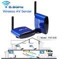 PAT-630 200 m 656ft AV de Áudio e Vídeo Sem Fio Transmissor + Receptor remetente Para STB DVD Cabo de Satélite IPTV Android TV PAL NTSC