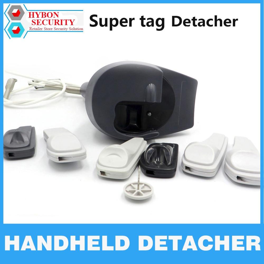 HYBON Security Tag Detacher Gun Handheld Detacher Lockpick Clothing Alarm Magnet Unlocker EAS Security Tag Remover Magnetic