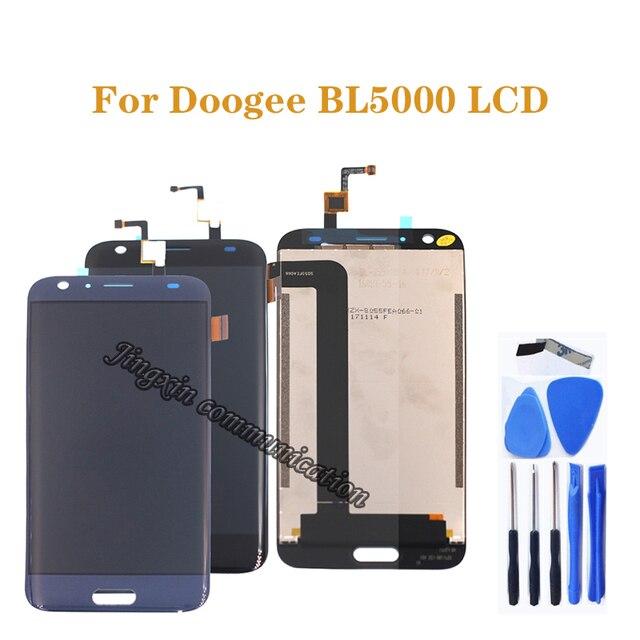 """5.5 """"per Doogee BL5000 LCD display + touch digitale convertitore di Montaggio di ricambio per DOOGEE bl5000 lcd parti di riparazione + strumenti"""