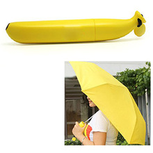 Umbrella banana folding umbrella yellow