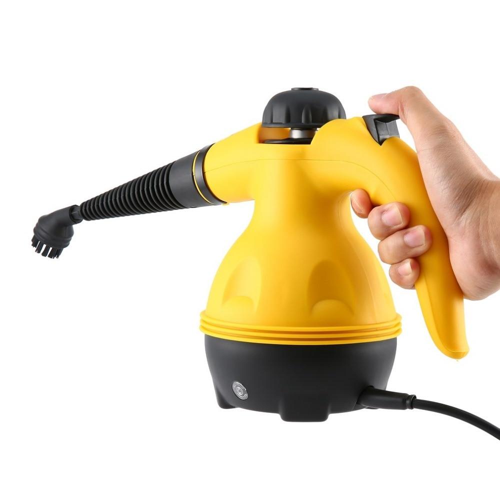 Multi-usages électrique nettoyeur à vapeur Portable à main vapeur ménage nettoyant accessoires cuisine brosse outil - 4