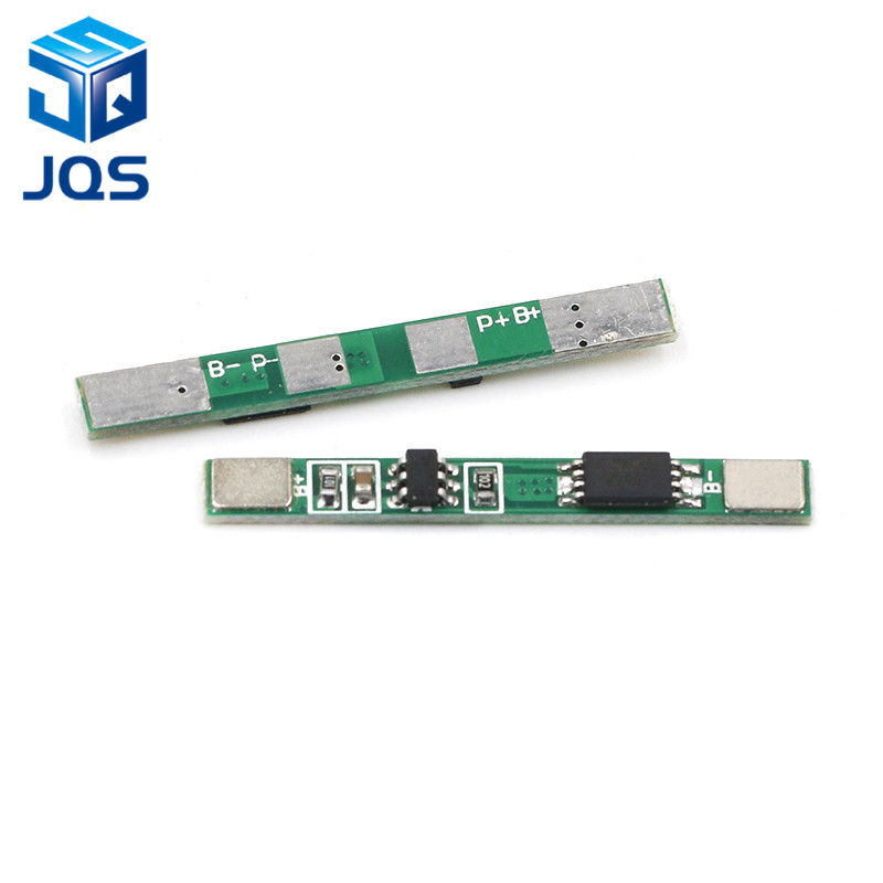 10PCS/LOT 1S 3.7V 3A Li-ion BMS PCM Battery Protection Board Pcm For 18650 Lithium Ion Li Battery