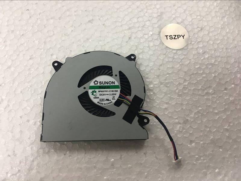 New Laptop cpu cooling fan For ASUS N550 N550J N550JA N550JK N550JV N750 N750J G550J G550JK MF60070V1-C180-S9A FAN