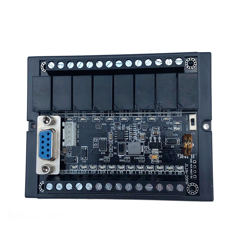 PLC FX1N-20MR, Relay Module Delay Module Plc Programmable Logic Controller 12 Point Input 8 Point Output
