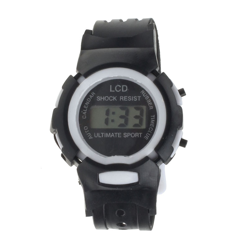 Splendid brand new  Boys Girls Students Time Clock Electronic Digital LCD Wrist Sport Watch new fashion design unisex sport watch silicone multi purpose date time electronic wrist calculator boys girls children watch