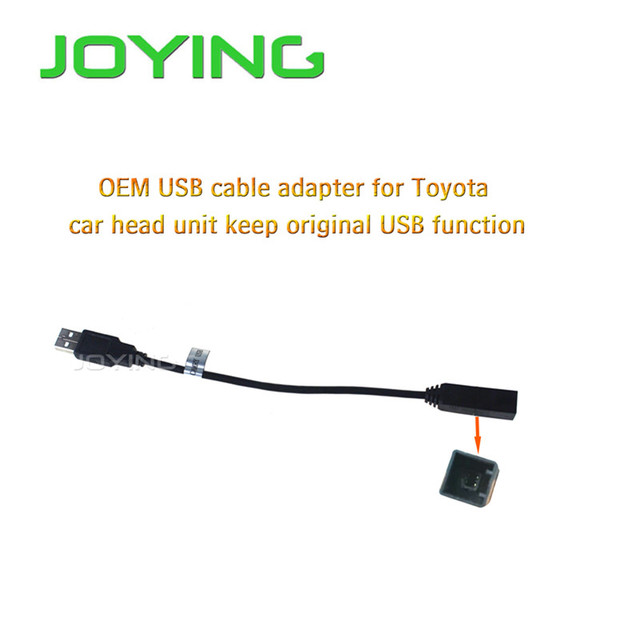2016 newest joying oem usb harness wiring cable adapter for toyota rh aliexpress com 1988 Toyota Wiring Harness Toyota Pickup Wiring Harness Diagram