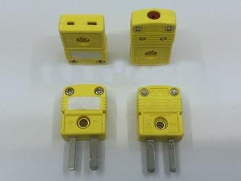 Free shipping 50pc Original k type thermocouple Plug Female Thermocouple Connector sensor SMPW-K-F