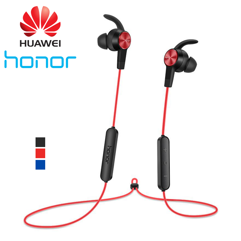 Original Huawei Honor xSport Bluetooth Earphones AM61 IPX5 Waterproof Music Mic Control Wireless Headset Earbuds for Android iOS