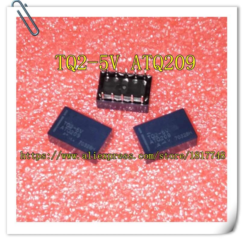 10PCS TQ2-5V TQ2 TQ2-5V TQ2-DC5V TQ2-5VDC ATQ209 RELAY TELECOM DPDT 1A 5V NEW ORIGINAL SHORT LEADTIME