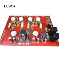 Lusya Hi End Stereo Push Pull EL84 Vaccum Tube Amplifier PCB DIY Kit AUDIONOTE PP Circuit with capacitance D4 004