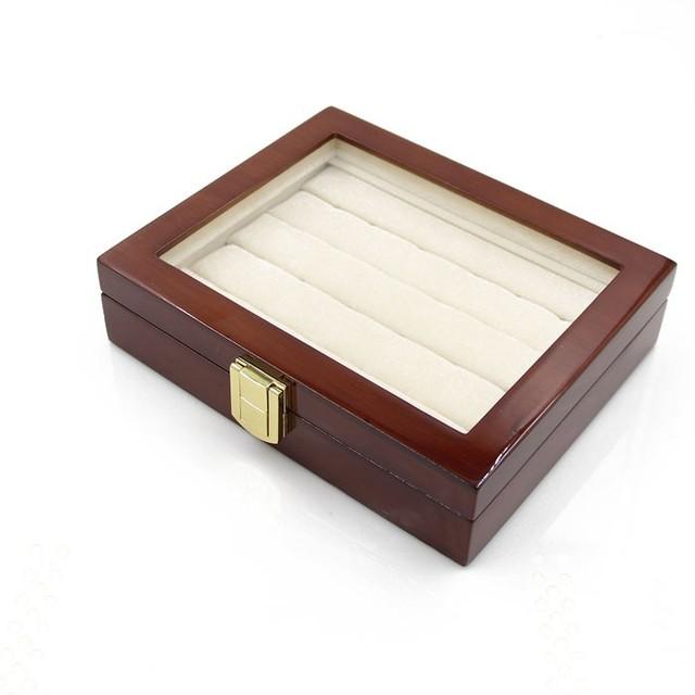 Storage Box Display Case Cufflinks Tie Clips