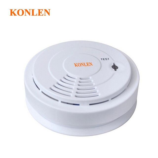 Беспроводной детектор дыма 433 mhz пожарная сигнализация для безопасности дома-5