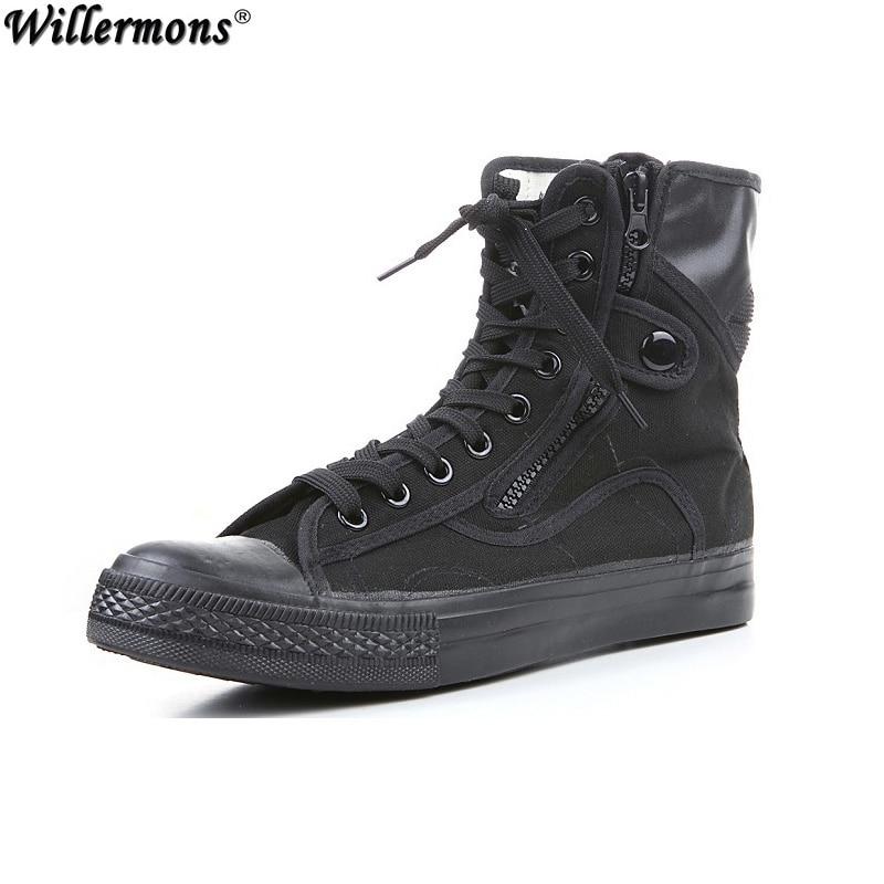 a84ded087a6b8 الصيف الرجال تنفس قماش الجيش العسكريين القتالية الصحراء تكتيك أحذية  espadrille بوتاس هومبر zapatos