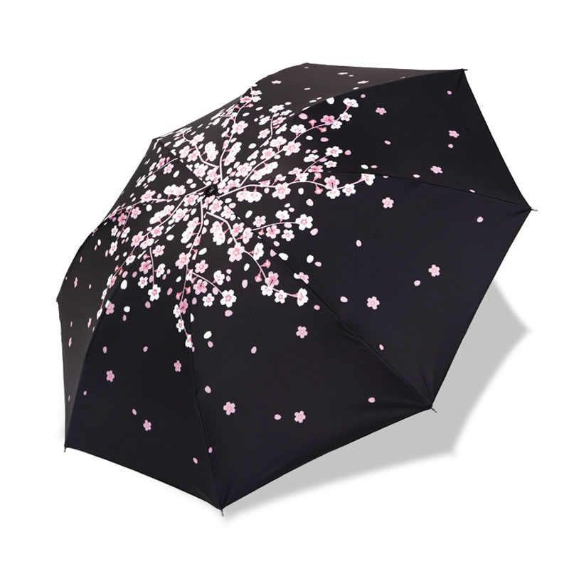 1e0e5cb3c64b Men Women Sun Rain Umbrella UV Protection Windproof Folding Compact Outdoor  Travel Umbrellas Best Price
