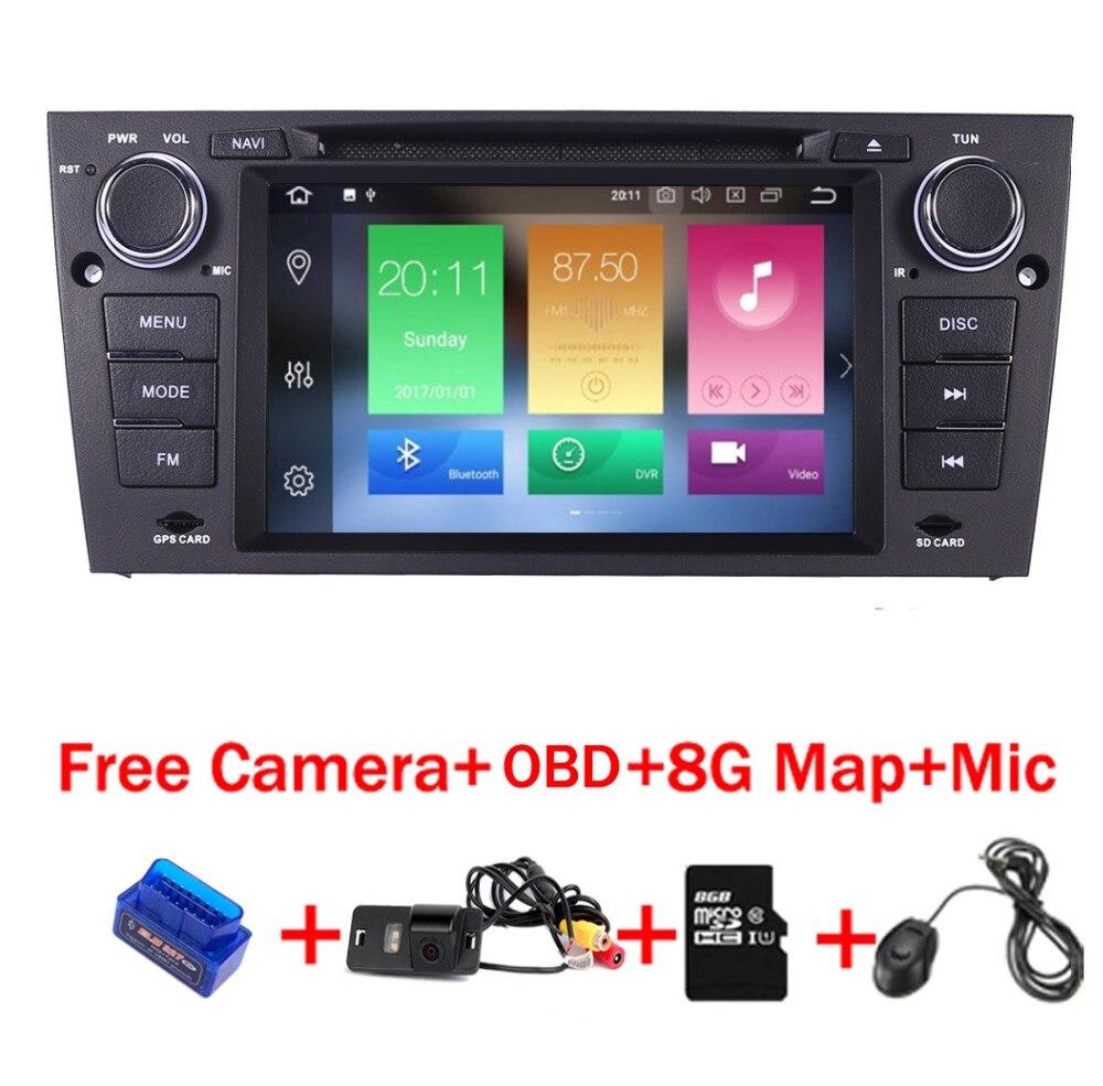4g + 32g 8 Core Android 8.1 autoradio lettore multimediale per BMW E90 E91 E92 Con Manuale telaio Auto Wifi 4g GPS Bluetooth Radio lettore dvd