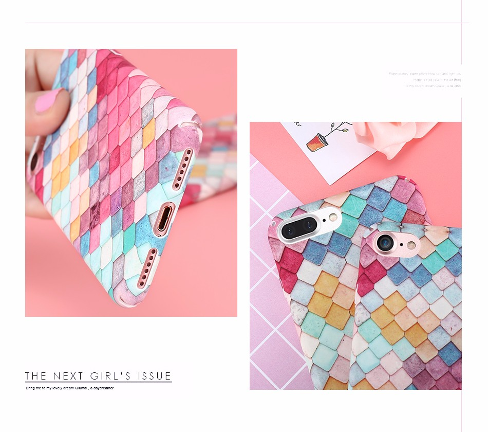 Kisscase 3d Scales Fish Matte Pc Phone Case For Iphone Xr X