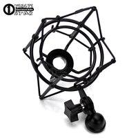Metal Spider Microphone Shock Mount Studio Recording Condenser Mic Stand Shockproof For Neumann C01U Pro BM 800 700 BM700 BM800