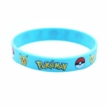 Wholesale Fashion 4 colors Wristband ID Bracelet Children Pokemon Go Team Mystic Instinct Rubber Silicone Bracelets