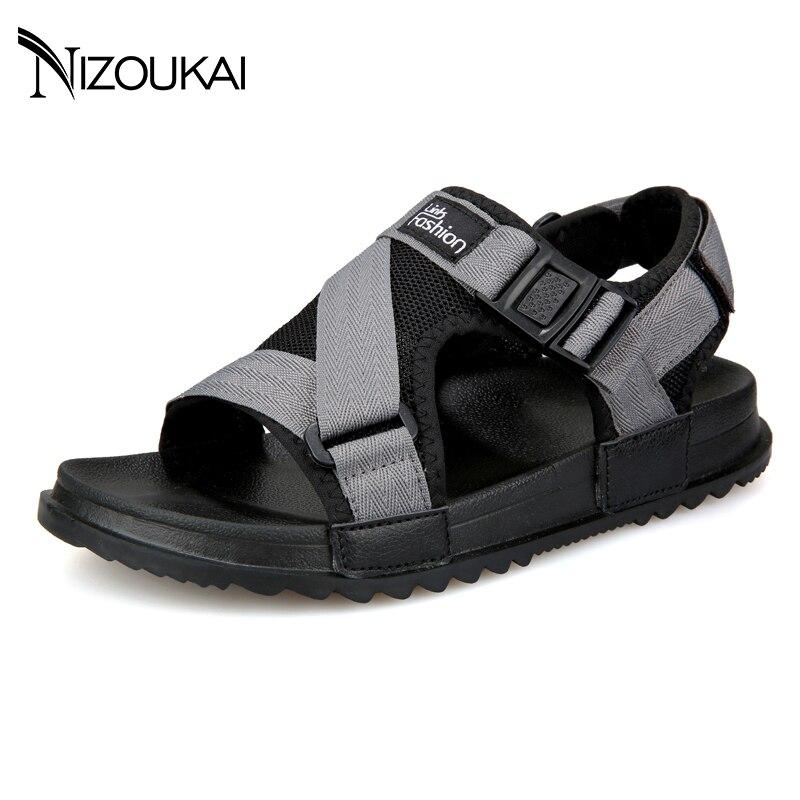 Men Sandals Summer High Quality Brand Shoes Beach Men Sandals Men Causal Shoes Fashion Outdoor Waterproof Sandals 3085