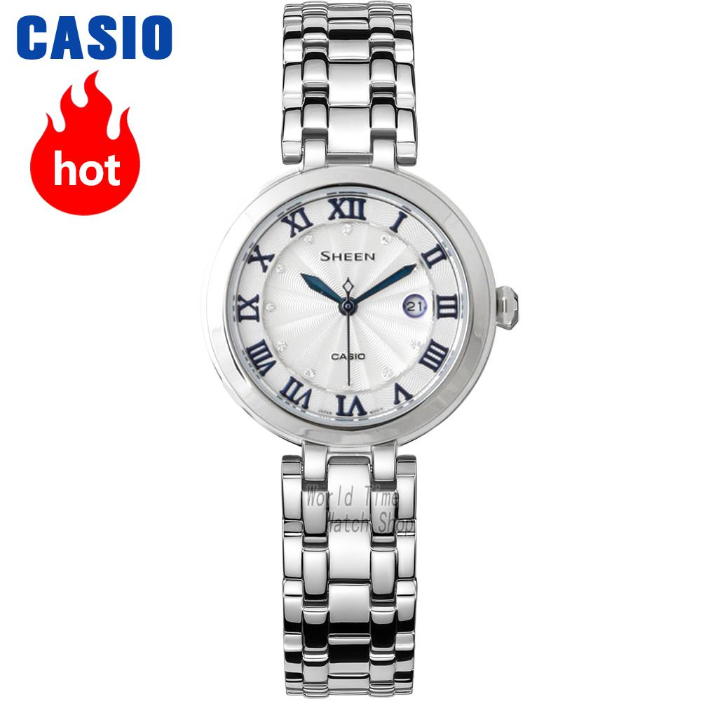 Casio watch Series of fashion elegant ladies watches SHE-4033D-7A SHE-4033SG-7A casio sheen multi hand shn 3013d 7a