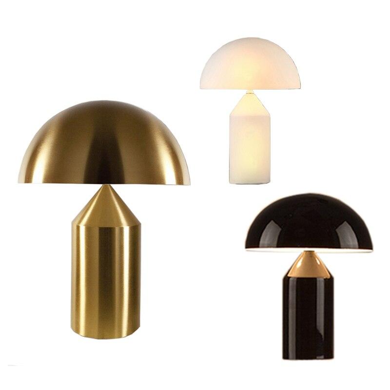 Lampe de Table moderne en fer lampe de bureau créative lampe de lecture E14 110 V 220 V Clip lampe de bureau pour étude décoration d'art à la maison