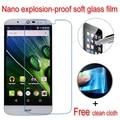 Nunca roto nano a prueba de explosiones de vidrio blando clear lcd película protectora protector de pantalla para acer liquid zest plus jade primo