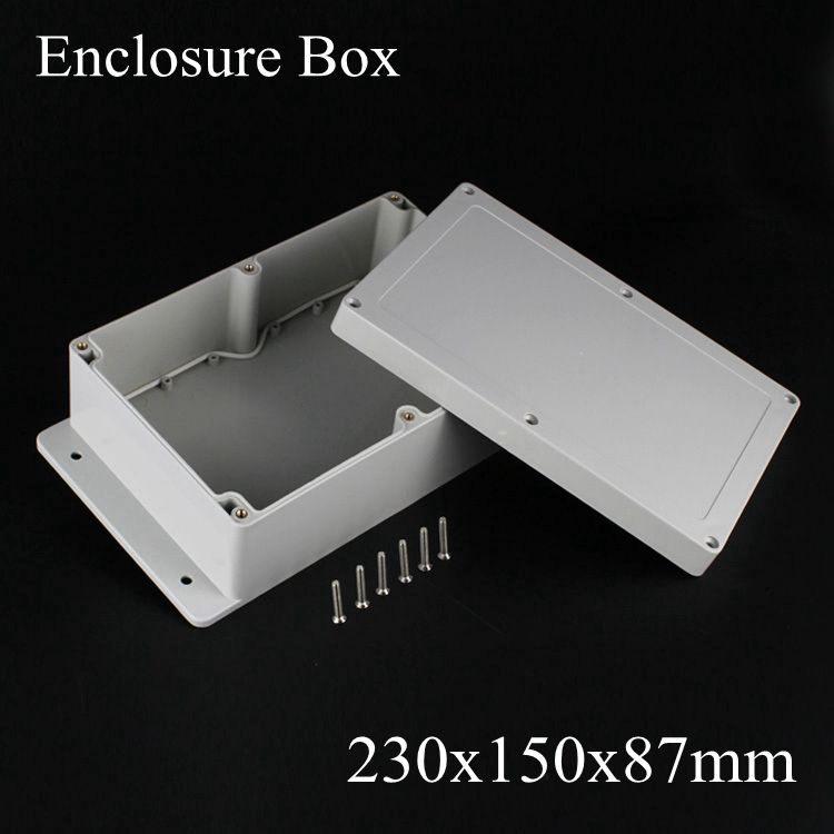 230*150*87mm IP66 ABS Waterproof electronic enclosure project box Distribution control switch junction outlet case 230x150x87mm 175 175 100mm ip67 abs electronic enclosure box distribution control network cabinet switch junction outlet case 175x175x100mm