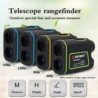 Telescope Rangefinder 600 Meters 900 Meters 1200 Meters Hand Held Outdoor Range Finder