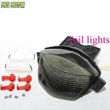 motorcycle parts LED Tail Brake Light For Kawasaki Ninja 650R EX650 ER-6f 2005 2006 2007 2008 Smoke