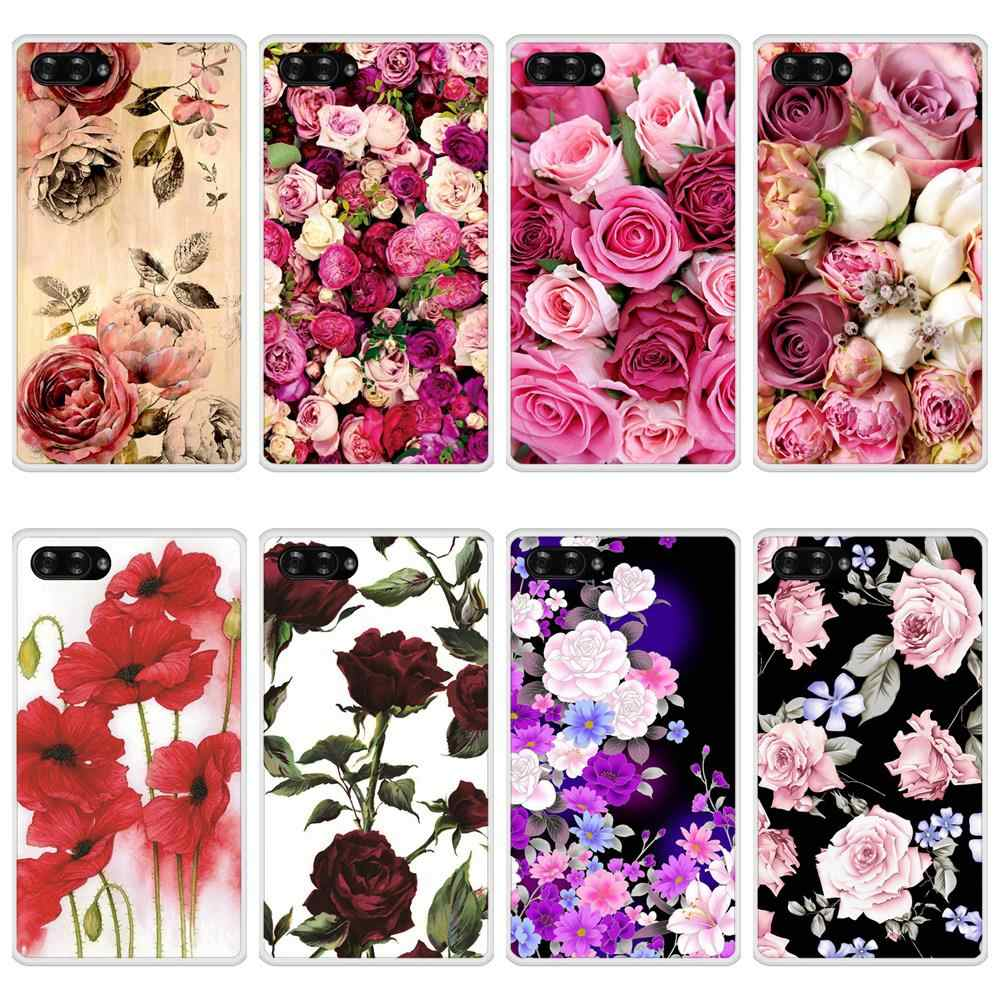 Case For Doogee Mix Soft Silicone TPU Floral Flower Pattern Print Phone Cover For Doogee Mix Case Cover