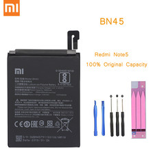 Original Phone Battery for Redmi Note 5 Battery Xiaomi hongmi Note5 Pro BN45 Replacement Batteries + Package Red rice bateria(China)