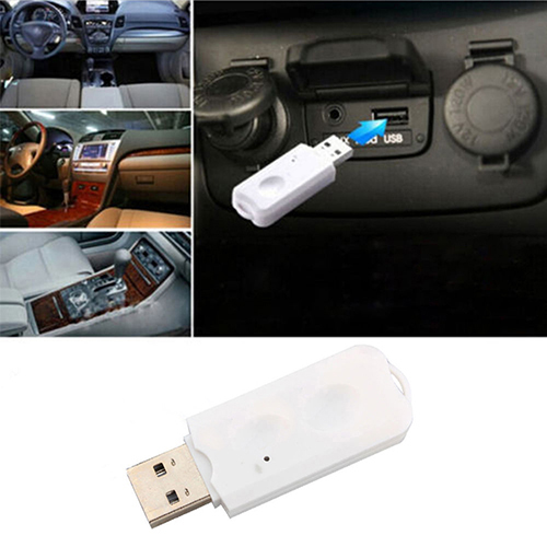 Image 2 - Car USB Wireless Bluetooth 2.1 A2DP Stereo Audio Music Speaker Receiver Adapter-in USB Bluetooth Adapters/Dongles from Computer & Office
