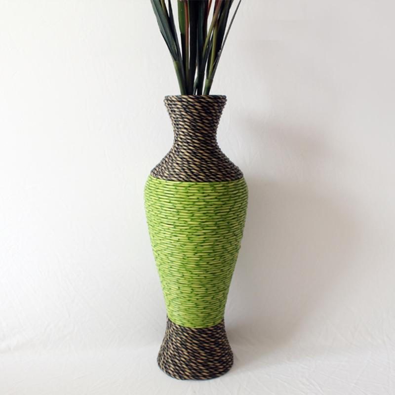 large ornamental vases