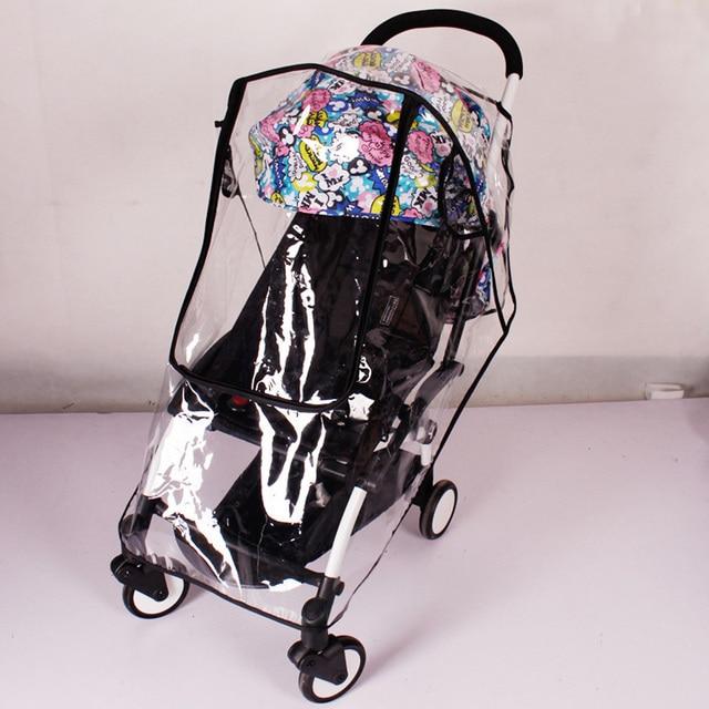 Nieuwe Universele Volledige Cover Waterdichte Regen Stofkap Regenjas Kinderwagen Accessoires Voor Babyzen YOYO YOYO + Wandelwagen 1