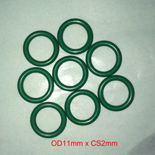 OD11mm*CS2mm viton rubber o ring gasket seal free freight