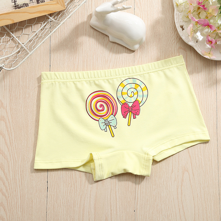 1 4 pcs lot Boy shorts children underwear for boys cotton boxer underwear Kids panties Lollipop 2 10T in Panties from Mother Kids