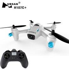 Nouveau Arrivé Hubsan X4 H107C + Plus (mise à niveau version X4 H107C) Mini Drones avec Caméra HD 720 P 6-axis Gyro RC Quadcopter