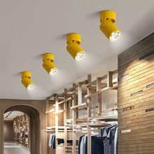 Artpad Nordic Surface Mounted Ceiling Downlight AC110V 220V 180 Rotatable Bar Clothes Shop Gallery Backdround Spot LED Light